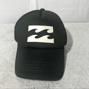 Billabong trucker cap SnapBack hat mesh back